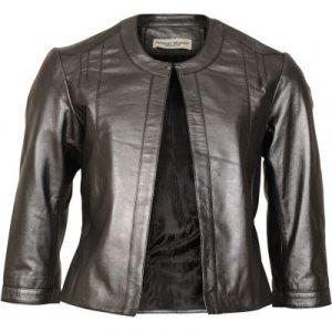 Margit Brandt skind jakke.
