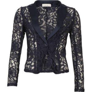 Margit Brandt Blonde jakke.