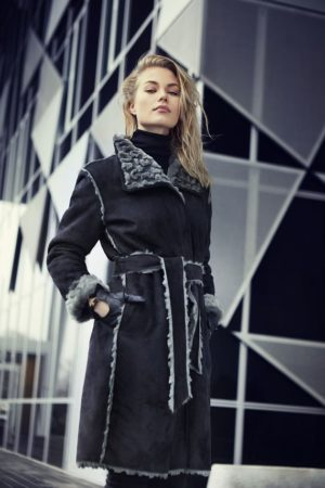 Loft Denmark vendbar fake fur.