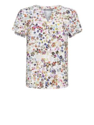 Elton blomstret bluse