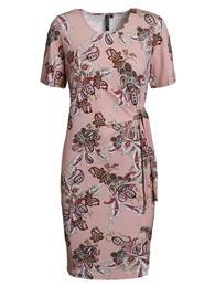 Signature kjole med bindebånd.