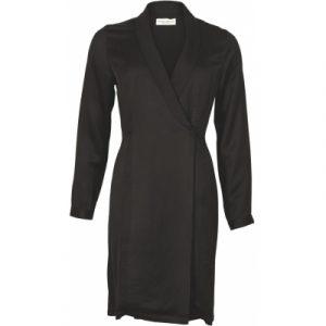 Slå om, kjole/jakke i sort.