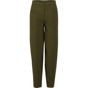 Elton bukser i oliven grøn.