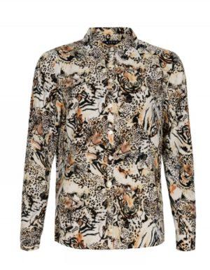 Skjorte i Animal print.